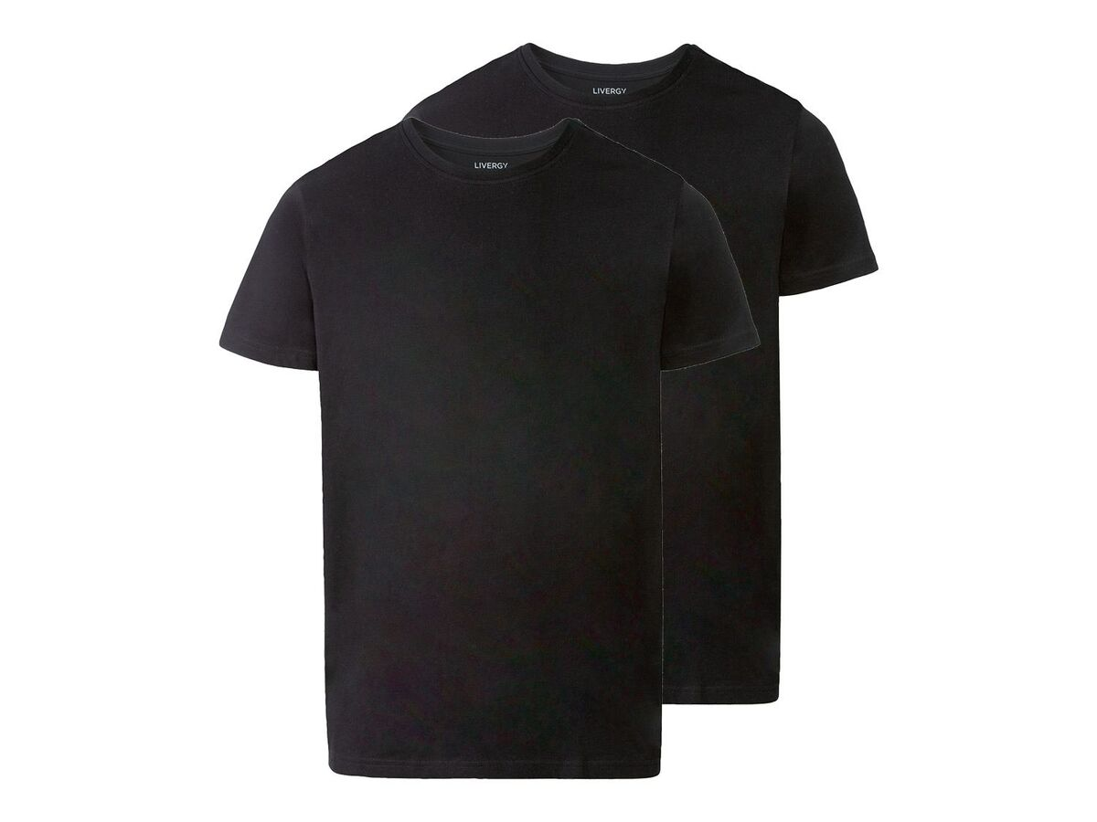 Bild 2 von LIVERGY® T-Shirts Herren, 2 Stück, körpernah geschnitten