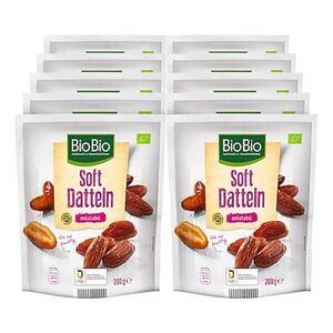 BioBio Soft Datteln 200 g, 10er Pack