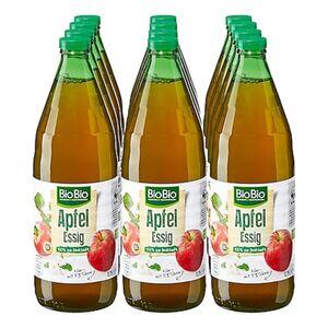 BioBio Apfelessig klar 750 ml, 12er Pack