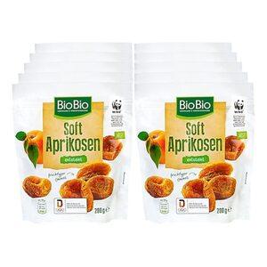 BioBio Soft Aprikosen 200 g, 10er Pack