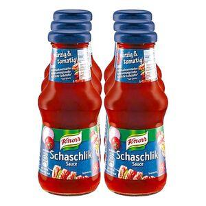 Knorr Schaschlik-Sauce 250 ml, 6er Pack