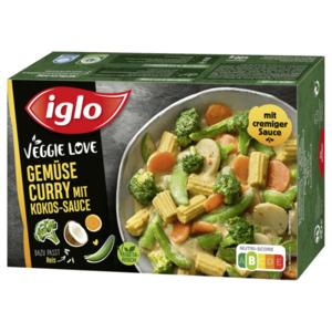Iglo Veggie Love Gemüse Curry mit Kokos-Sauce 400g