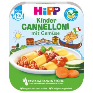 Hipp Bio Cannelloni mit Gemüse 250g