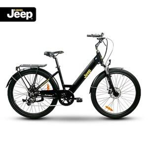 """Jeep Trekking E-Bike TLR 7020, 28"""", Shimano Altus 7-Gang Kettenschaltung, black"""
