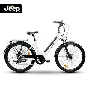 "Jeep Trekking E-Bike TLR 7021, 28"", Shimano Altus 7-Gang Kettenschaltung, white"