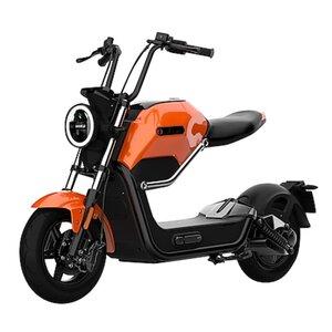 """Santa Tina Design-Elektroroller """"Max"""" orange/schwarz Lithium 60V/20 Ah bis 45 km/h"""