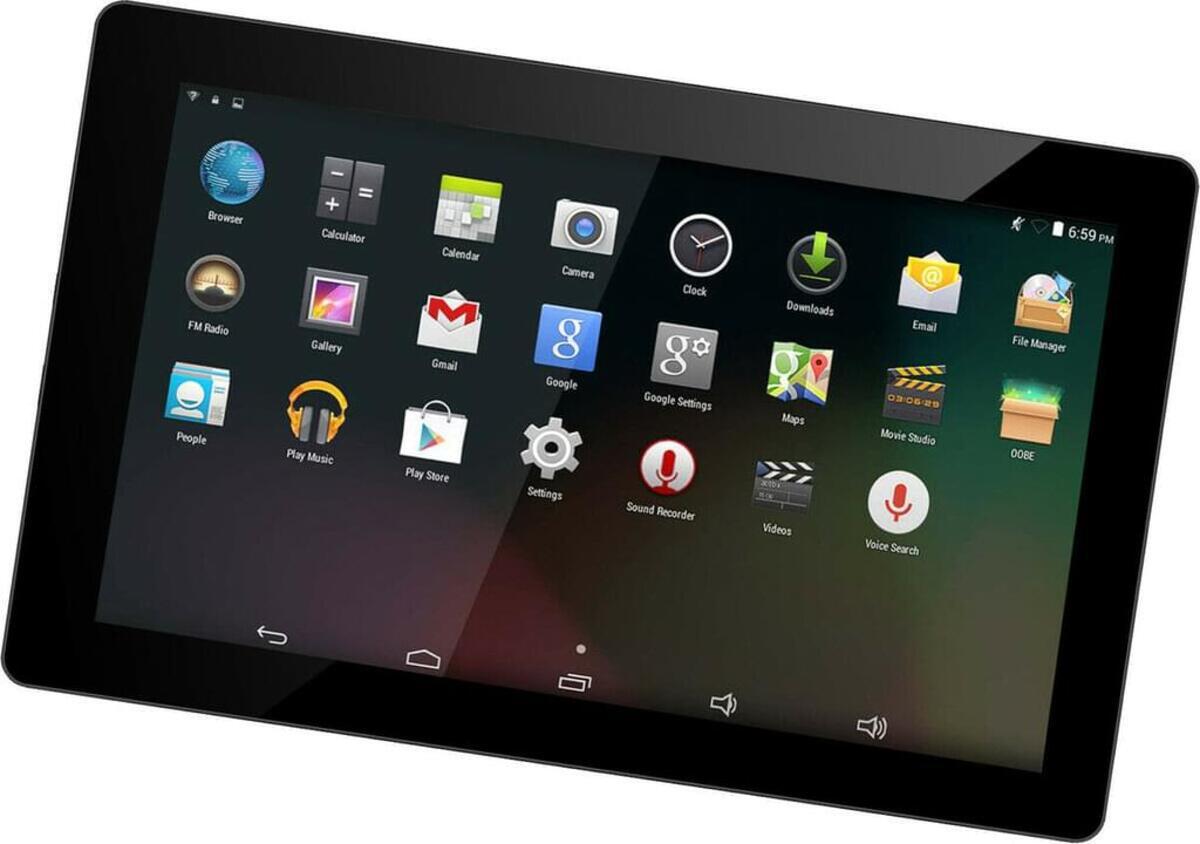 """Bild 1 von Denver Tablet TAQ-10423L 4G, 16GB 10 Zoll Android schwarz """"wie neu"""""""
