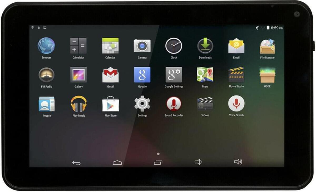 """Bild 2 von Denver Tablet TAQ-10423L 4G, 16GB 10 Zoll Android schwarz """"wie neu"""""""