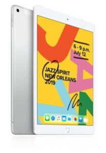 Apple iPad 2019 (10,2 Zoll), Wi-Fi, 32GB, Farbe: Silber