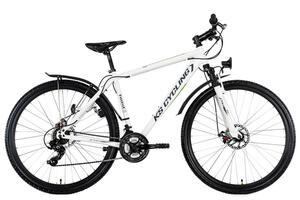 "Mountainbike Hardtail ATB Twentyniner 29"" Heist weiß-grün"