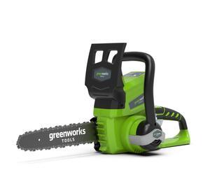Greenworks 24V Akku-Kettensäge G24CS25 (ohne Akku)