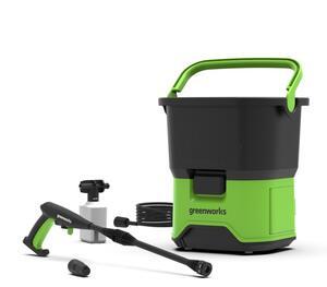 Greenworks 40V Akku-Hochdruckreiniger mit 2,5Ah Batterie und Ladegerät GDC40K25