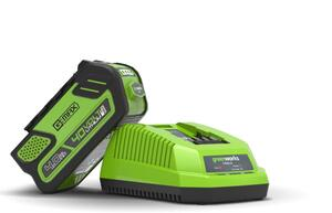 Greenworks 40V Starter Kit 2,5Ah Batterie und Ladegerät GSK40B25