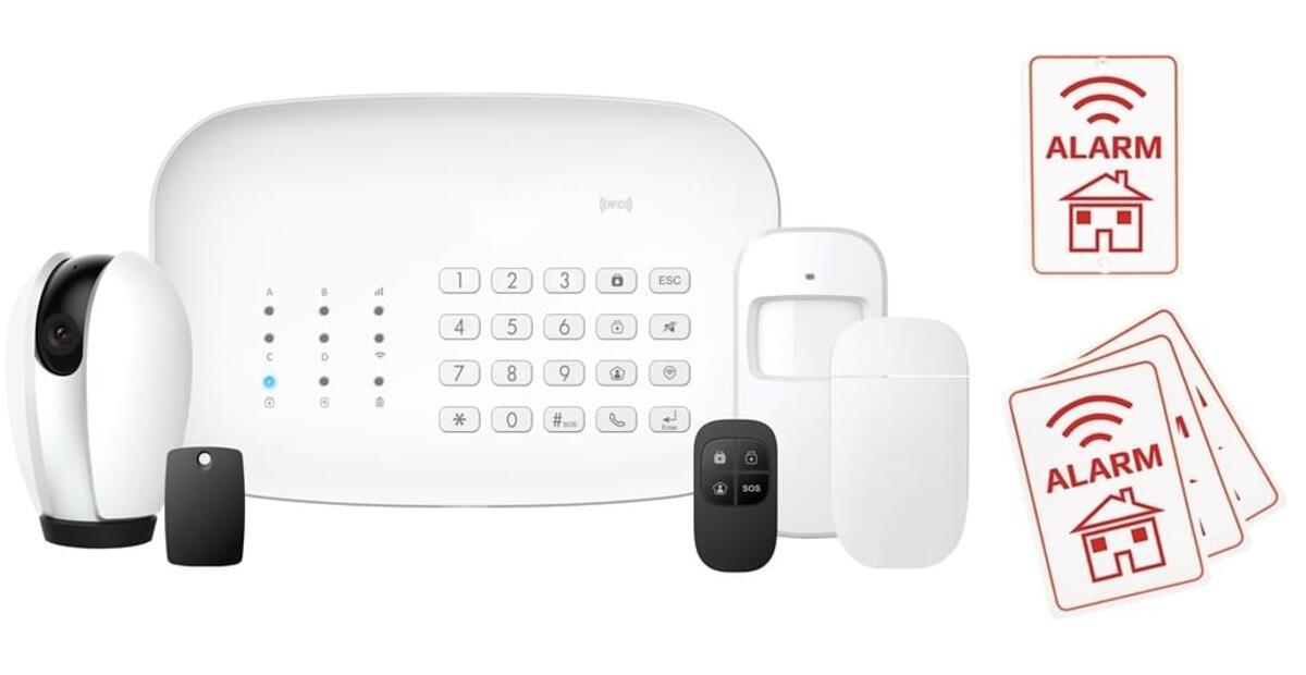 Bild 2 von Denver SHA-150, Smart Alarm System + IP CAM - Tuya kompatibel