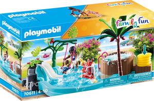 PLAYMOBIL 70611 Kinderbecken mit Whirlpool