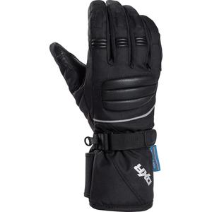 DXR Damen Tour Leder-/Textilhandschuh 1.0 schwarz Größe 9