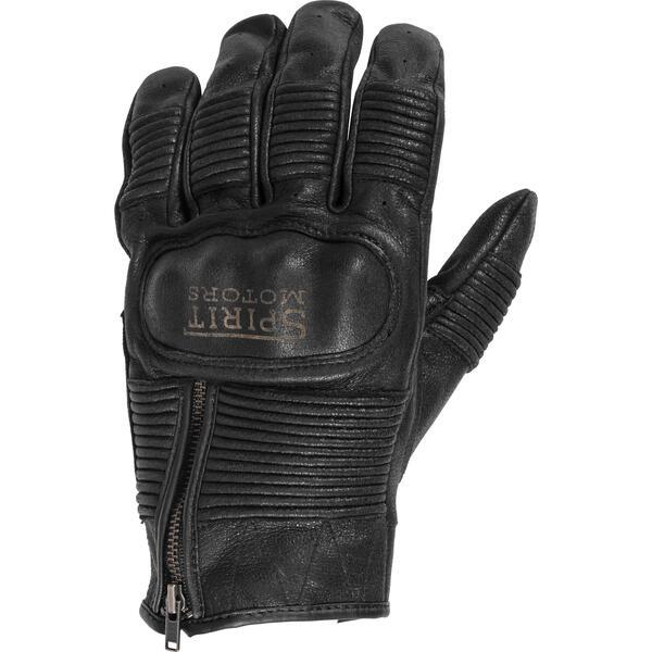 Spirit Motors Lederhandschuh mit Stretch 1.0 schwarz Herren Größe 11