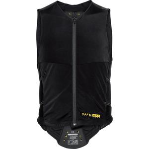 Safe-Max® Rückenprotektorweste 1.0 schwarz Unisex Größe M
