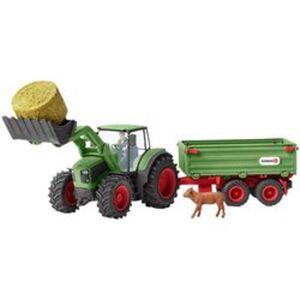 Schleich® Traktor mit Anhänger
