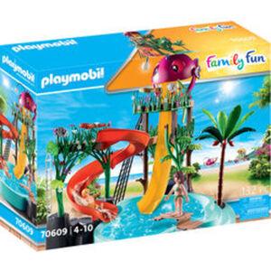PLAYMOBIL® Family Fun 70609 Aqua Park mit Rutschen