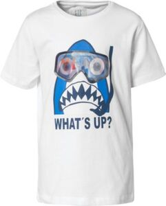 T-Shirt  weiß Gr. 92/98 Jungen Kleinkinder