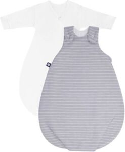 Babyschlafsack Cosy Grey Stripes 68/74 grau