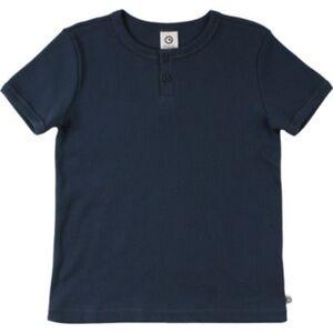 T-Shirt müsli T-Shirts  blau Gr. 128 Jungen Kinder