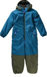 Kinder Schneeanzug TURVA ICE blau Gr. 80/86