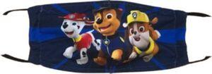 Mund-Nasen-Maske Paw Patrol, PP0163, XS, 2er Pack blau