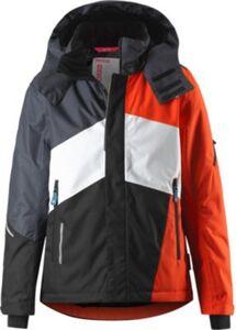 Skijacke LAKS  orange/schwarz Gr. 128 Jungen Kinder