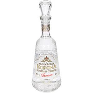 "Vodka ""Russian crown Premium"" 40% vol"