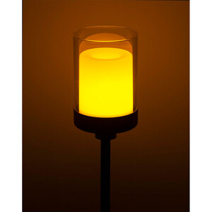 "Flector Garten              LED-Solar-Dekospieß ""Nordic"", schwarz"