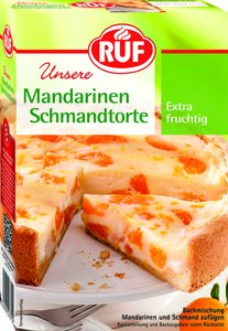 RUF Mandarine-Schmand-Torte