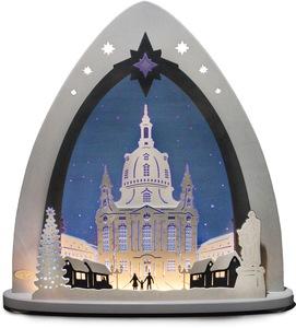Weigla Lichterbogen »Dresdner Frauenkirche«, in 3D Optik