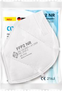 Collectex FFP2 Atemschutzmaske für Erwachsene, Einweg