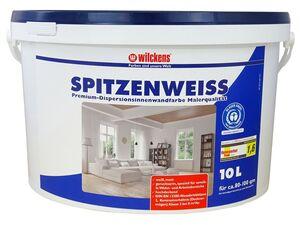 Wilckens Disperionsfarbe Spitzenweiss, 10 Liter, für Innenräume