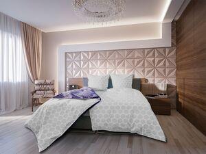Castell Perkal Bettwäsche, hohe Luftdurchlässigkeit, mit Reißverschluss, aus Baumwolle