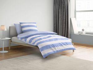 Castell Satin Bettwäsche »Maritime«, mit Reißverschluss, bügelleicht, aus Baumwolle