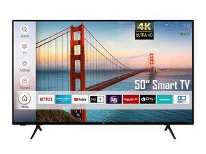 Dual D50JU6000 50 Zoll Fernseher (Smart TV, Prime Video / Netflix, 4K UHD mit Dolby Vision HDR / HDR 10, Triple-Tuner, HD+)