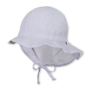 Sterntaler Hut mit Nackenschutz Weiß 45  1511620 Flapper  Textil