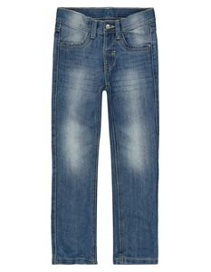 Jungen Slim Fit Jeans im Stone Washed-Look