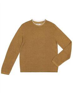 Herren Pullover - Double-Layer Look