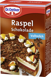 Dr.Oetker Raspel Schokolade Vollmilch 100 g