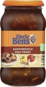 Uncle Ben's Sauce Kantonesisch Soja Pikant