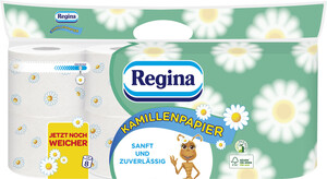 Regina Toilettenpapier Kamille 3-lagig 8x150 Blatt