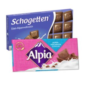 Alpia Schokolade oder Schogetten