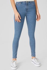 C&A CLOCKHOUSE-Super Skinny Jeans, Blau, Größe: 44