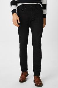 C&A Slim Jeans, Schwarz, Größe: W28 L32