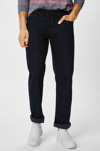 C&A Straight Jeans, Blau, Größe: W32 L30