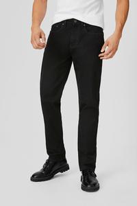 C&A Straight Jeans, Schwarz, Größe: W30 L32